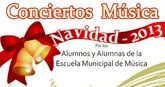 Esta tarde comienzan los conciertos navidad 2013 de la escuela municipal de música que tendrán lugar en la cárcel