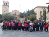 Más de 60 personas participaron en la tradicional Caminata Popular enmarcada en las fiestas patronales en honor a Santa Eulalia