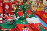 Varios expositores conforman la I Feria de Navidad, instalada en la Plaza de la Balsa Vieja