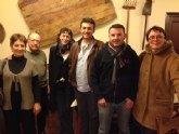 David Fernández participa en un encuentro entre el Parti de Gauche y Ecosocialistas de la Región de Murcia