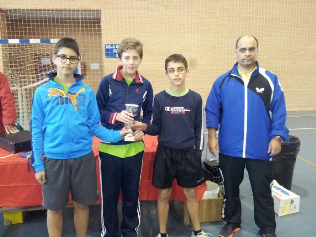 El C.D. Mazarrón T.M. campeón benjamín y subcampeón infantil en el Campeonato Regional por Equipos, Foto 1