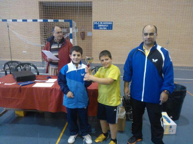 El C.D. Mazarrón T.M. campeón benjamín y subcampeón infantil en el Campeonato Regional por Equipos, Foto 2
