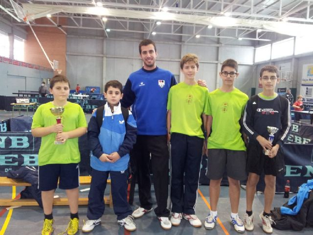 El C.D. Mazarrón T.M. campeón benjamín y subcampeón infantil en el Campeonato Regional por Equipos, Foto 3