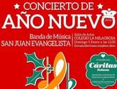 Concierto de Año Nuevo a cargo de la Banda de Música de San Juan Evangelista