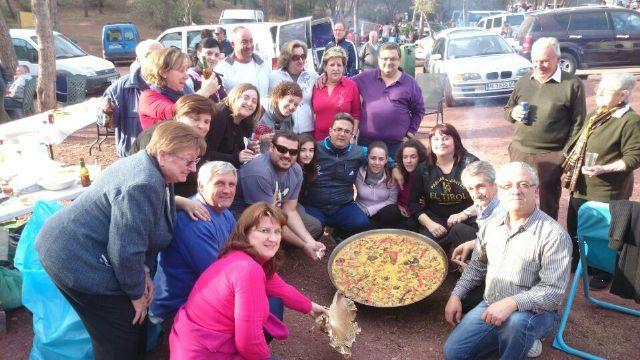 D´Genes y AELIP participan en la romería a La Santa, Foto 1