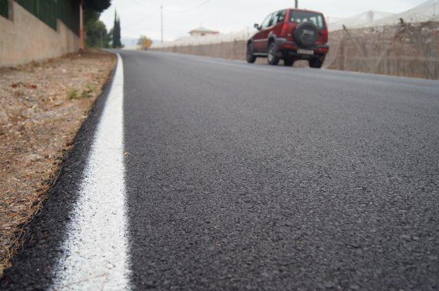 Finalizan las obras de acondicionamiento de los caminos rurales de Los Yesares, El Portón y El Bosque, Foto 1