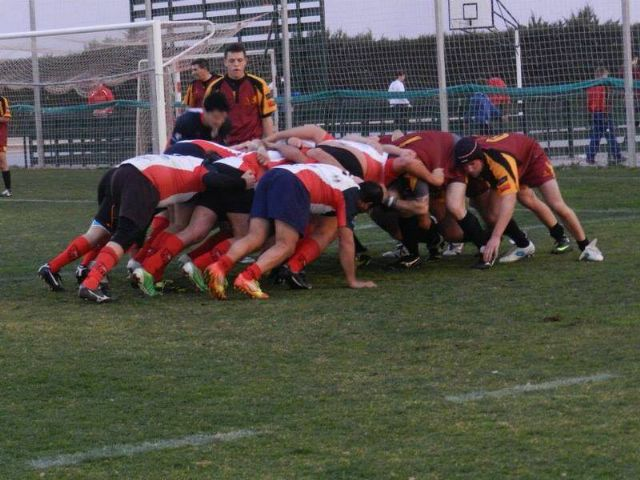 El Club de Rugby de Totana vence al XV Murcia-B por 20 a 7, Foto 2