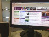 La web municipal Totana.es registra una media de 1.000 sesiones diarias durante el año 2013