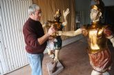 La Hermandad de Jesús en el Calvario continúa con la restauración del trono y el conjunto escultórico de El Lavatorio de Pilatos