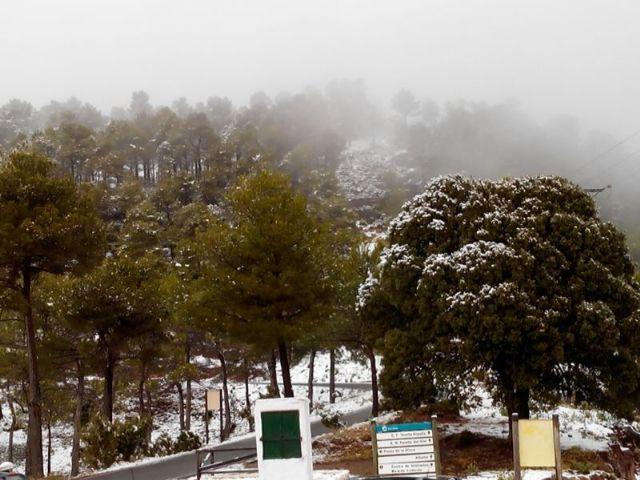 Caen las primeras nieves del 2014 en Sierra Espuña, Foto 4