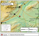 Terremoto de 2,4 º con epicentro Totana