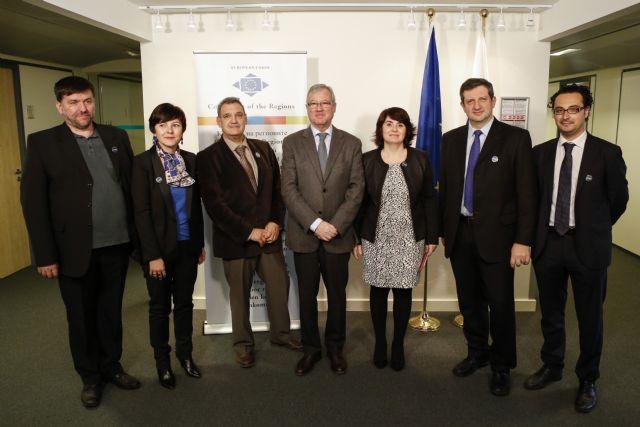 Totana se convierte en la sede de la primera Agrupación Europea que reúne a cien municipios de España, Italia, Francia y Rumanía que trabajan en favor de la cerámica