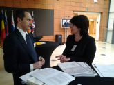 La alcaldesa presenta en el Foro Europeo Culture and Creativity el proyecto del Yacimiento Argárico La Bastida