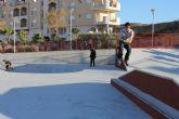 Mazarrón ya cuenta con un skatepark para el disfrute de los jóvenes