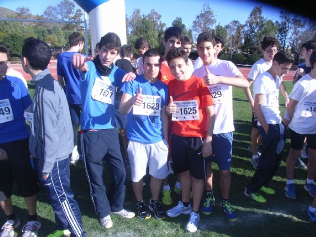 21 escolares de Totana participaron en la final regional de campo a través de Deporte Escolar infantil, cadete y juvenil, Foto 7