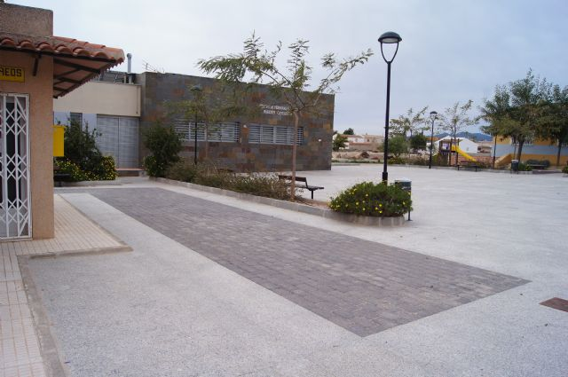 El ayuntamiento de Totana inaugurará el nuevo salón de actos de El Paretón-Cantareros el próximo día 8 de marzo, Foto 4