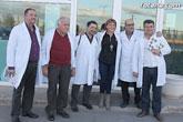 El profesor de la Universidad Carlos III y dirigente de IU, Pedro Chaves Giraldo, visitó Totana