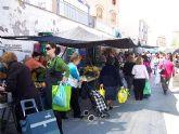 El mercadillo semanal de los miércoles en Totana cuenta con un total de 209 puestos de venta ambulante