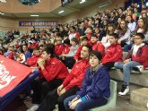 El Club Baloncesto Totana visita el Palacio de los Deportes de Murcia
