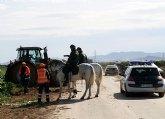 La Guardia Civil refuerza los servicios en la Regi�n con el Escuadr�n de Caballer�a y el Grupo de Reserva y Seguridad