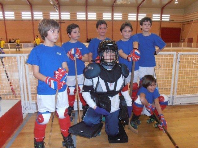 Primer partido fuera de la Región de Murcia del Club Hockey Patines de Totana