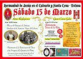 El trono restaurado del Lavatorio de Pilatos se presentará y bendecirá el próximo día 15 de marzo por la tarde