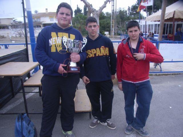 El Colegio Reina Sofia consigue el primer puesto en la final regional de petanca de Deporte Escolar celebrada en Mazarrón, Foto 1