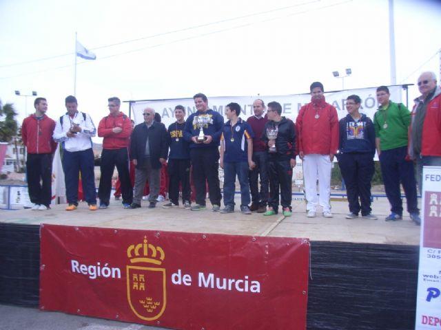 El Colegio Reina Sofia consigue el primer puesto en la final regional de petanca de Deporte Escolar celebrada en Mazarrón, Foto 2