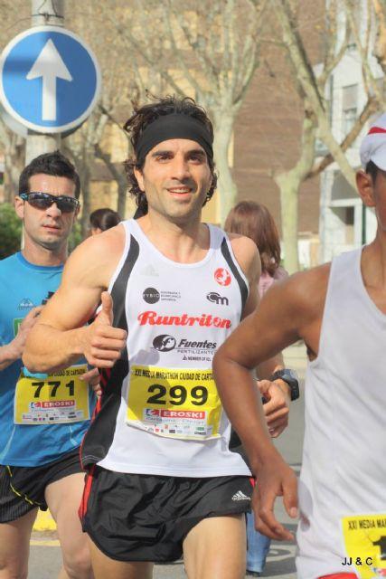 Atletas del Club de Atletismo Totana participaron en la III Peñarrubia Trail Lorca y en la XXI Media Maratón de Cartagena, Foto 6