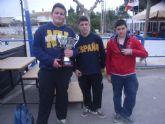 El Colegio Reina Sofia consigue el primer puesto en la final regional de petanca de Deporte Escolar celebrada en Mazarrón