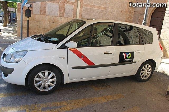 Los taxis de Totana promocionarán en toda la Región de Murcia la marca Totana Origen. Calidad Agrícola y Ganadera, Foto 1