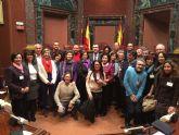 La alcaldesa y Presidenta de la AECC considera muy positivo para el sector la aprobación de la nueva Ley de Artesanía de la Región de Murcia