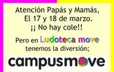 La ludoteca move organiza un campus que tendrá lugar el 17 y 18 de marzo