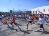 Veintidós escolares totaneros participaron en la final regional de campo a través de Deporte Escolar en las categorías benjamín y alevín
