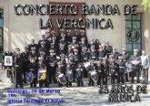 La Banda de la Cofradía de La Verónica ofrecerá un concierto con motivo de su 25 aniversario
