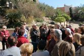M�s de cincuenta personas visitan la localidad atra�das por el Museo Arqueol�gico de Los Baños