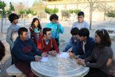 Los j�venes del municipio disfrutan aprendiendo en el taller de cine impartido en los institutos y organizado por el Ayuntamiento de Alhama de Murcia