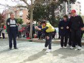 FEAPS reúne a más de 40 deportistas con discapacidad de la Región en un torneo de petanca