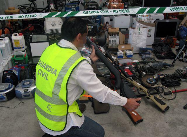 La Guardia Civil recupera 200 efectos sustraídos en viviendas y naves industriales de la Región, Foto 4