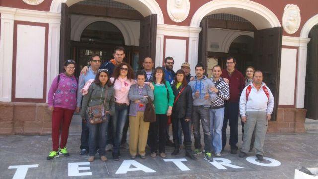 Los usuarios del centro de dia Princesa Leticia realizan actividades para aumentar el conocimiento sobre el riesgo de las drogas, Foto 2