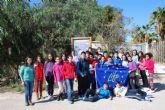 Los escolares de Mazarrón continúan aprendiendo sobre la malvasía cabeciblanca y su conservación