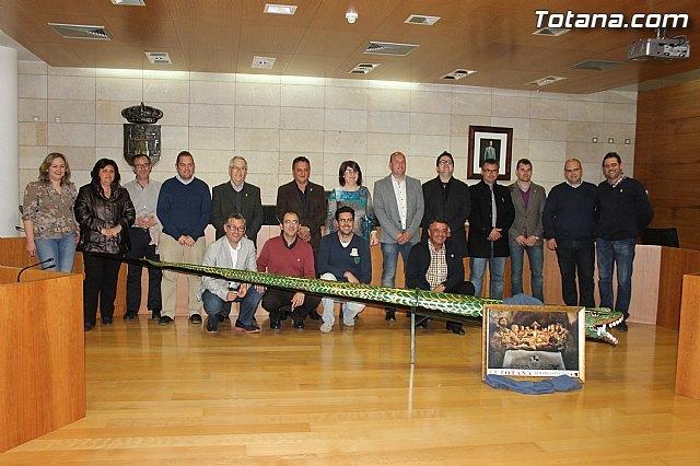 El Ayuntamiento y el Ilustre Cabildo Superior de Procesiones suscriben un convenio, Foto 1