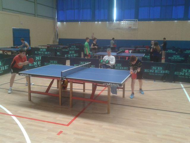 Tenis de mesa. Club Totana TM. Resultados fin de semana. II Open Autonómico, Foto 2