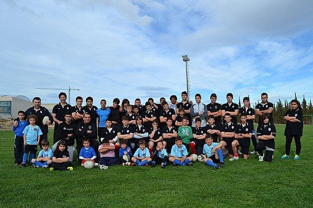 Gran participación del Club de Rugby de Totana en el Campeonato de Escuelas de Rugby, Foto 1