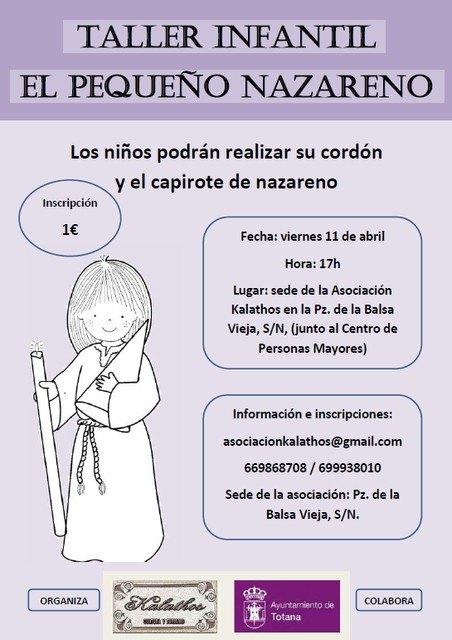 """La Asociación """"Kalathos"""" organiza dos actividades relacionadas con la Semana Santa, Foto 2"""