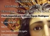 """La Asociaci�n """"Kalathos"""" organiza dos actividades relacionadas con la Semana Santa"""