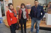 Autoridades municipales asisten a la inauguraci�n de la muestra de Alfar Tudela en el Centro Regional de Artesan�a