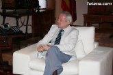 El PSOE reprocha a Valc�rcel que haya olvidado a la ciudad de Totana durante 19 años