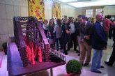 """La empresa totanera """"Alfar Tudela"""" expone tinajas típicas de cerámica en la sede de la Delegación del Gobierno - 3"""
