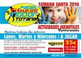 Actividades infantiles monitorizadas en Padel Indoor en Semana Santa